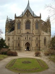 St. Barbara's Cathedral in Kutna Hora, Czech Republic.