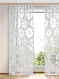 Mit diesem Schal setzen Sie wirkungsvolle Akzente in Ihrem Zuhause. Die großen Blüten sind der Hingucker dieser leichten Fertiggardine und verleihen dem Raum ein elegantes Ambiente. Maße: ca. 245 x 135 cm (HxB)