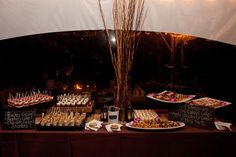 Dessert Table  Summer Wedding at Pearl S. Buck | by Jamie Hollander Catering & Events