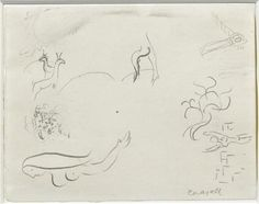 Song of Songs I - Marc Chagall  1960