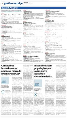 Título: Carência de investimentos ameaça o mercado brasileiro de GLP. Veículo: Gazeta do Povo. Data: 29/04/2014. Cliente: Copagaz.
