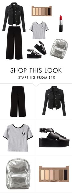 """Winona Ryder alike"" by belledeparis on Polyvore featuring Ted Baker, LE3NO, Chicnova Fashion, Alexander Wang, Pantone, Urban Decay and MAC Cosmetics"