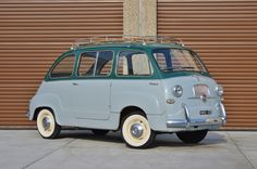 This 1956 Fiat Multipla is a largely original left-hand drive example with an… Fiat 500, Volkswagen Routan, Good Looking Cars, Fiat Cars, Van Design, Fiat Abarth, Car Wheels, Small Cars, Classic Cars Online