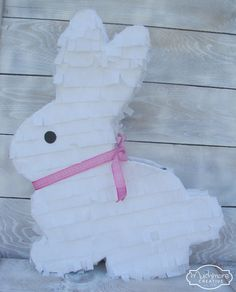 My daughter decided she wanted a bunny party for her birthday, and we have a tradition of having a pinata for birthdays, so I got to work ma...