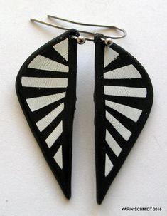 Øreringe. Dangle earrings. Friendly plastic. Karin Schmidt, Friendly Plastic, Dangle Earrings, Dangles, Jewellery, Jewerly, Jewels, Schmuck, Drop Earrings