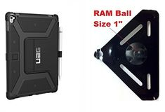 SlipGrip RAM 1 Ball Mount For Apple iPad Pro 97 Tablet Using UAG Rugged Folio Case >>> You can get more details by clicking on the image. (This is an affiliate link) Car Accessories For Women, Accessories Store, Cell Phone Accessories, Universal Tv Mount, Ipad Mount, Speaker Mounts, Tv Stand With Mount, Ipad Pro 12 9