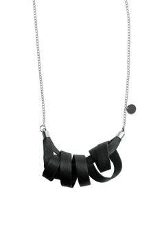 """Oily Bird"" necklace! 77 €. http://shop.nousevamyrsky.fi #design #minimalist"