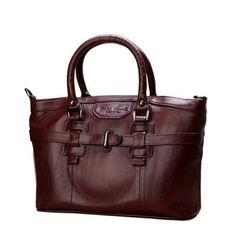 Women Genuine Leather Vintage Oil Wax Handbag As low as $198.00