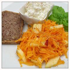 Karottensalat mit Macadamiaöl