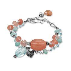 Baila Luna Strawberry Sherbet Bracelet