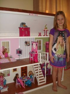 Create a Family Heirloom Wooden Barbie Dollhouse - Photo by Lisa Rose