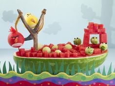 Watermelon Board | Angry Birds