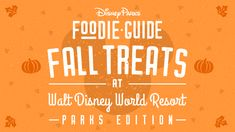 It's spooky season again at Walt Disney World Resort, and that means it's time for the highly-anticipated return of our yummy fall eats and treats! From pumpkin spice, apple, and cinnamon delights to sweet sips and fun novelties, each Disney Parks Blog, Disney S, Disney Word, Walt Disney World Vacations, Disney Trips, Halloween Treats To Make, Waffle Toppings, Disney World Tips And Tricks, Fall Treats