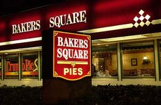 Bakers Square: Chicago - This place is a chain, we usually don't do chains but the food is awesome and the pies are delicious!
