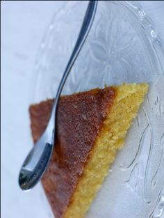 recette de cuisine gâteau sucré à la semoule de maïs