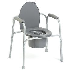 Commode All In One 300lb Capacity  96504 Invacare -- Detailed information can be found by clicking on the VISIT button