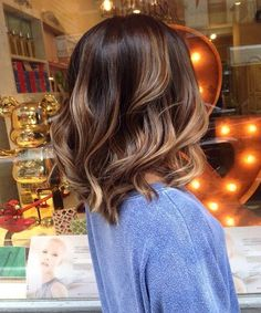 Balayage Hair Color Short Hair
