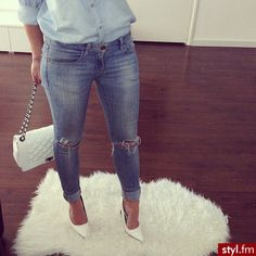 Clothes outfit for woman * teens * dates * stylish * casual * fall * spring * winter * classic * casual * fun * cute* sparkle * summer *Candice Wicks Dope Fashion, Fashion Killa, I Love Fashion, Passion For Fashion, Womens Fashion, Denim Fashion, Fall Winter Outfits, Autumn Winter Fashion, Spring Outfits
