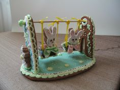 perfect for an Easter Gingerbread House