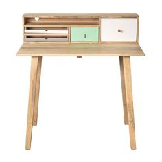 Buy the Green Bertie Wooden Desk at Oliver Bonas. We deliver Furniture throughout the UK within 5-12 working days from £35.