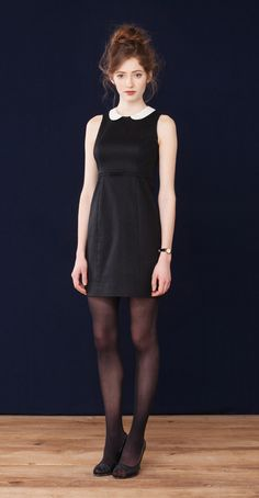 Stella Black · Dress with peter pan collar  Betina Lou Fall-Winter 2012-13