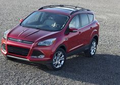 2013 Ford Escape - Auto News and Info - Top Front Angle