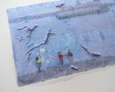 watercolor picture transfer; the process used to transfer images to glass (see other pin)