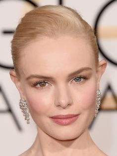 What do you think about Kate Bosworth's hair and makeup look from the #GoldenGlobes red carpet?