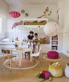Una habitación infantil divertida y de ideas originales