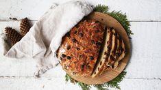 Glutenfritt julebrød med rosin & kanel Camembert Cheese, Crisp, Dairy