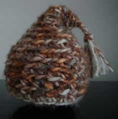 Baby Pixie/Gnome Hat. Brown/Multi by OmasFlohmarkt on Etsy, $15.00