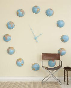 Very Cool use of globes.