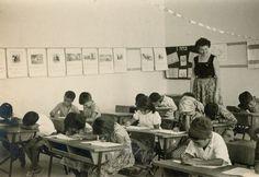 שיעור כיתה ג' בבית ספר שיקמים בשדרות