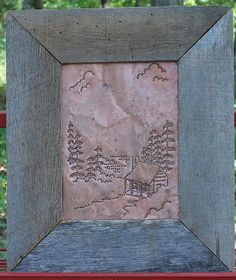 Primitive Copper Tin Punch Pie Safe Panel Rustic by SeventhChild, $125.00