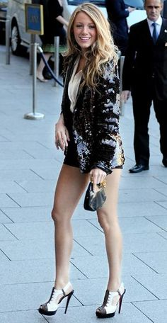 Get a Body Like Blake Lively - Get Sexy Legs from #InStyle
