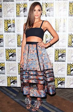 The Best Celebrity Looks From Comic-Con International via @WhoWhatWear
