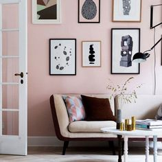 Lately, I've seen a number of spaces with pale pink walls that look amazing. And no, they're not little girls' rooms! (via Nordic Design)