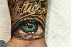 Blue Eye Tattoo by Mark Powell-  Toni Morrison's The Bluest Eye