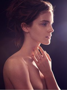 Emma Watson Gets Naked For Earth Day