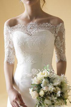 【楽天市場】ボレロ,サイズオーダー無料,オーダー【YNS-WEDDING】SC-PO08 ドレス販売,ウエディング,タキシード格安,披露宴,演奏会,結婚式,二次会:YNS WEDDING