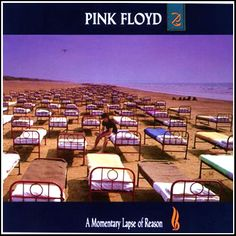 A Momentary Lapse of Reason. Pink Floyd album cover