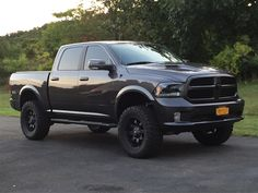 "4"" lift 35s- Dodge Truck Forums"