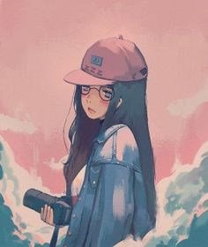 Image shared by Find images and videos about art and anime on We Heart It - the app to get lost in what you love. 5 Anime, Kawaii Anime, Character Illustration, Illustration Art, Tmblr Girl, Girls Manga, Anime Art Girl, Anime Style, Aesthetic Anime
