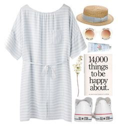 """""""Ocean breeze"""" by astoriachung ❤ liked on Polyvore featuring Band of Outsiders, Converse, OKA, Wildfox, Anthony Peto and Cath Kidston"""