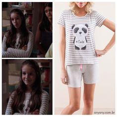 Marina, Kiria Araújo, ficou fofa com o nosso pijama! Amamos o estilo conforto total!