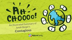 Jonah Berger's Contagious explained visually - his book is about whycertain products and ideas are talked about more than others, why some stories and rumors are shared more widelyand what makes onlinecontent goes viral. For your convenience, we've created an illustrated summary with illustrations and examples, enjoy!  Learn the art and science of … … Continue reading →