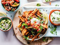 Use the best holiday side dishes for a healthy diet and don't worry about messing up your stellar nutrition plan this holiday season. Vegan Dinners, Healthy Dinner Recipes, Vegan Recipes, Easy Recipes, Healty Dinner, Cheese Recipes, Pie Recipes, Salad Recipes, Fajitas Vegetarianas