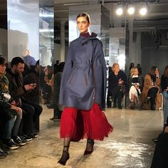 Caped crusader @houseofherrera #frontrow #nyfw #modluxluvs  via MODERN LUXURY MAGAZINE OFFICIAL INSTAGRAM - Luxury  Lifestyle  Culture  Travel  Tech  Gadgets  Jewelry  Cars  Gaming  Entertainment  Fitness