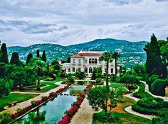 Villa Rothschild.Côte d'Azur