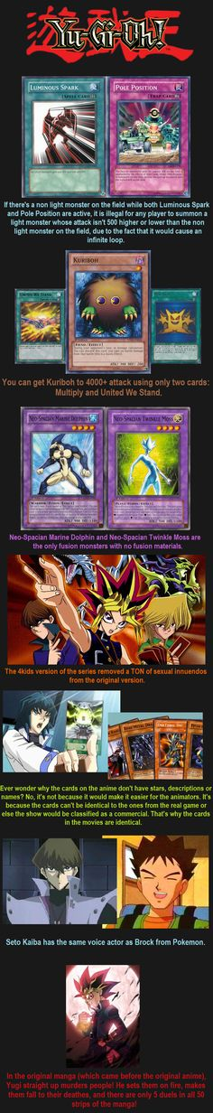 Yugioh Facts 7 // tags: funny pictures - funny photos - funny images - funny pics - funny quotes - #lol #humor #funnypictures